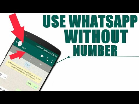 How to create WhatsApp account without number 2018 - Must Try!