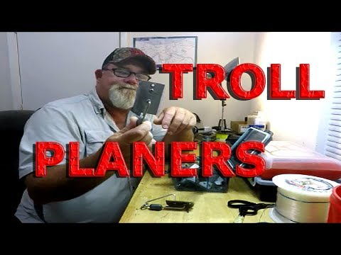 Trolling: PLANERS & SPOONS, very effective!!