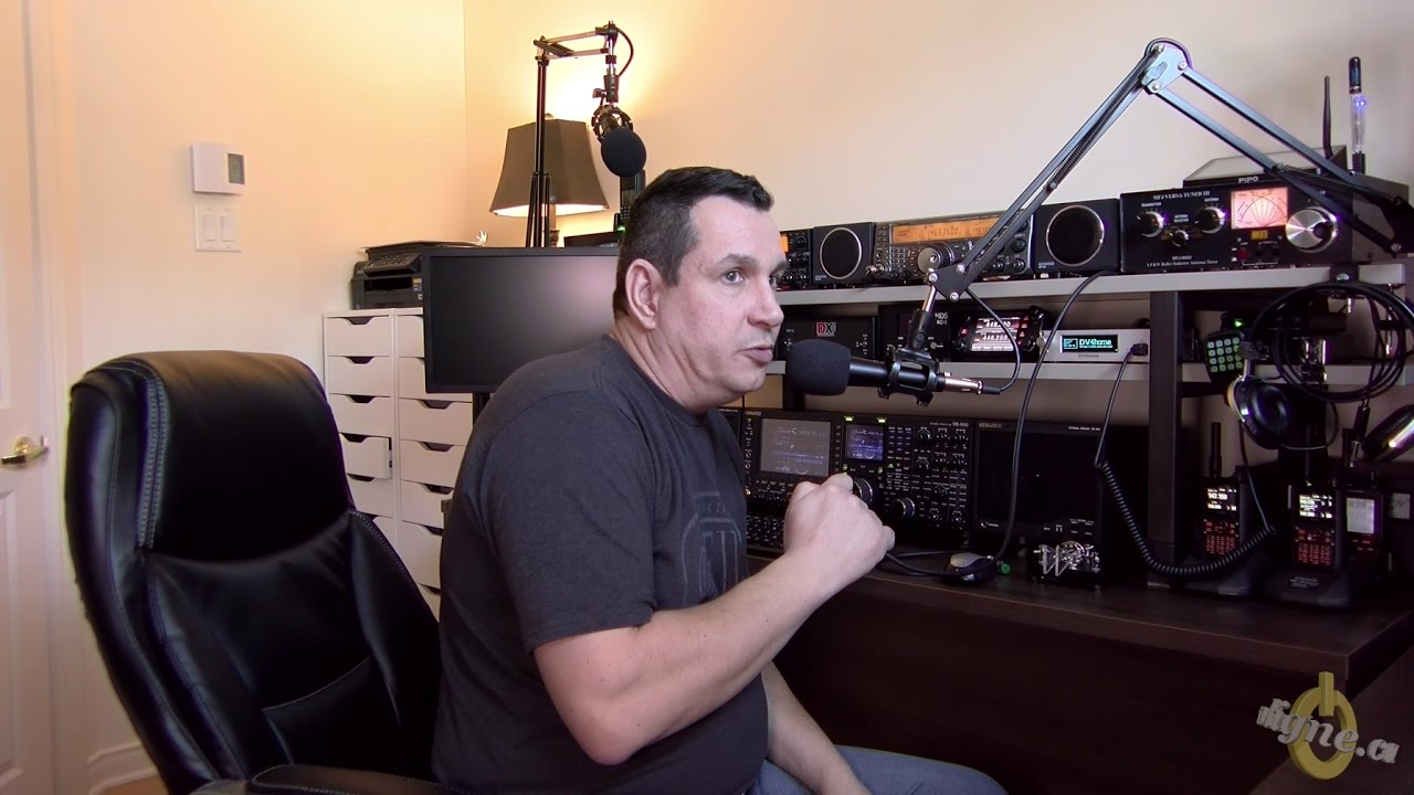 Ham Radio Mic With Boom Arm And Diy Hand Ptt For Less Then