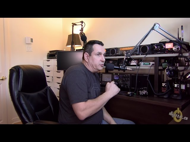 Ham radio mic with boom arm and DIY Hand PTT for less then $60 !