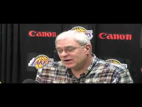 Lakers Coach Phil Jackson on playing Boston Celtics in 2010 NBA Finals