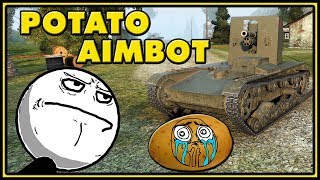 Arty Aimbot - Cheating in World of Tanks #3