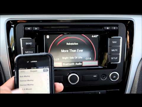 How To: Stream Bluetooth Audio With The VW RNS315 Navigation Stereo