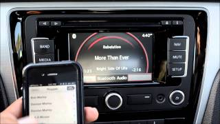 How To: Stream Bluetooth Audio with the VW RNS315 Navigation Stereo thumbnail