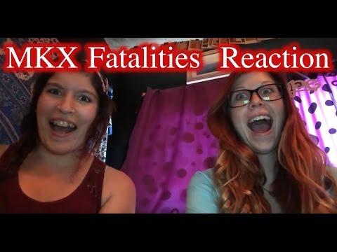 MKX Fatalities  Reaction