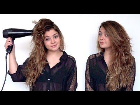 Peinados faciles para pelo con mucho volumen