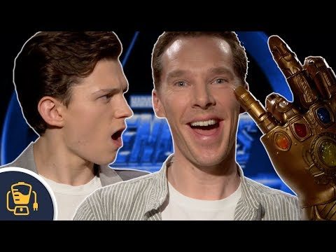 Benedict Cumberbatch Flips Off Tom Holland And Dodges Avengers Spoilers In Marvel Interview