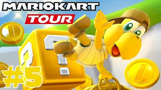 Mario Kart Tour: GOLD Challenges Completed Hammer Bro Tour!! - Part 5
