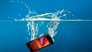 Смотреть видео утопил телефон в море