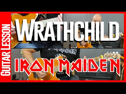 Wrathchild By Iron Maiden - Guitar Lesson