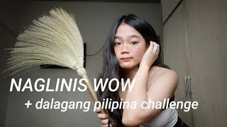 CLEANING MY ROOM + DALAGANG PILIPINA CHALLENGE