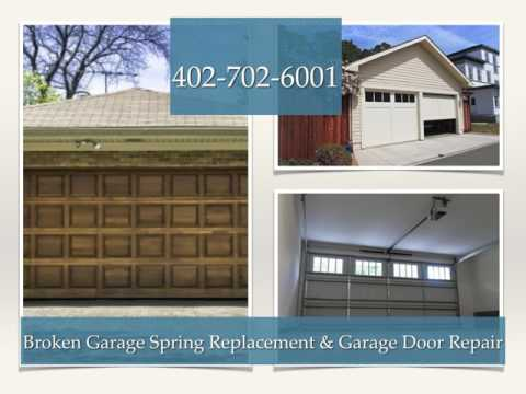 Broken Garage Springs Replacement in Omaha NE - Yankee Garage Doors