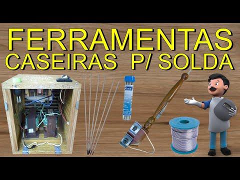 FERRAMENTAS CASEIRO PARA SOLDA, FERRAMENTAS INCRÍVEIS CASEIRAS PARA SOLDAR HERRAMIENTAS CASERO