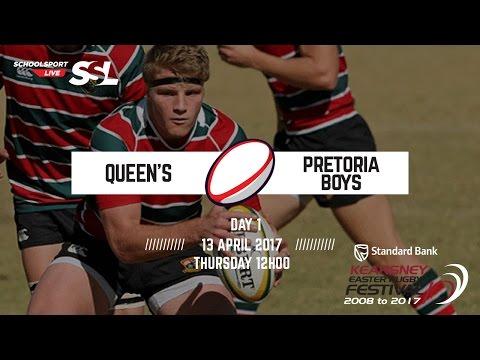 Kearsney Fest: Queen's XV vs Pretoria Boys XV, 13 April 2017