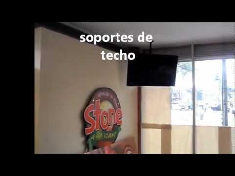 Soportes de techo para tv lcd led soporte tv doble para - Soportes de tv para techo ...