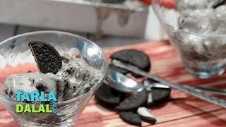 Quick Oreo Ice Cream By Tarla Dalal