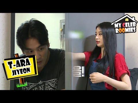 [My Celeb Roomies - Jiyeon Of T-ARA] She Finally Arrived At Her Roomie's Pleace 20170804