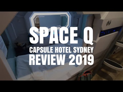 Space Q Capsule Sydney Review // AUSTRALIA TRAVEL VLOG