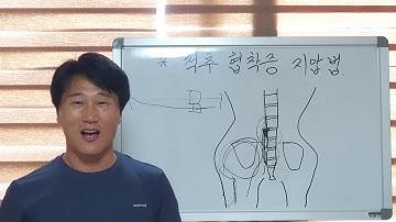 척추 협착증 지압법 (따라서 지압해주면 즉시 좋아집니다.) 105번째 동영상 입니다.