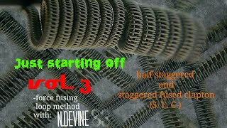 Coil Build - Just starting off - Vol 3 - Half and full SFC - force fuse and loop method - n.devine83