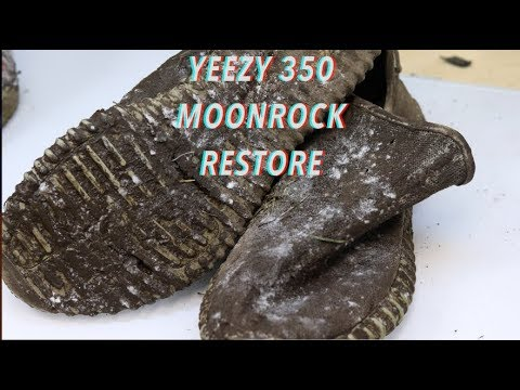 $1100 Trashed Adidas Yeezy Moonrocks REVIVED!
