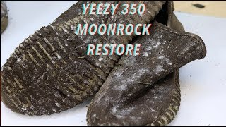 $1100 Trashed Adidas Yeezy Moonrocks REVIVED! thumbnail