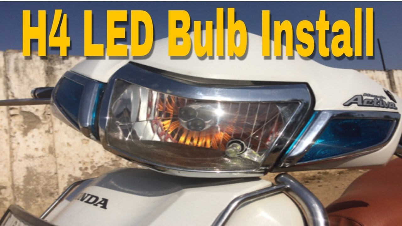 How to install H4 LED bulb and Connection Ac to Dc - YouTube H Bulb Wiring Diagram Motorcycle on h4 hid wiring, h4 bulb specifications, h4 connector diagram, h4 wiring with diode, h4 plug diagram, bulb connections diagram, hid bulb diagram,