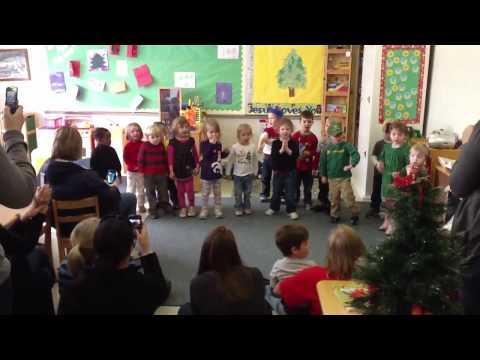 "Raegans pre-school class ""Christmas Carol Performance"""