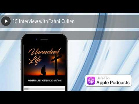 15 Interview with Tahni Cullen