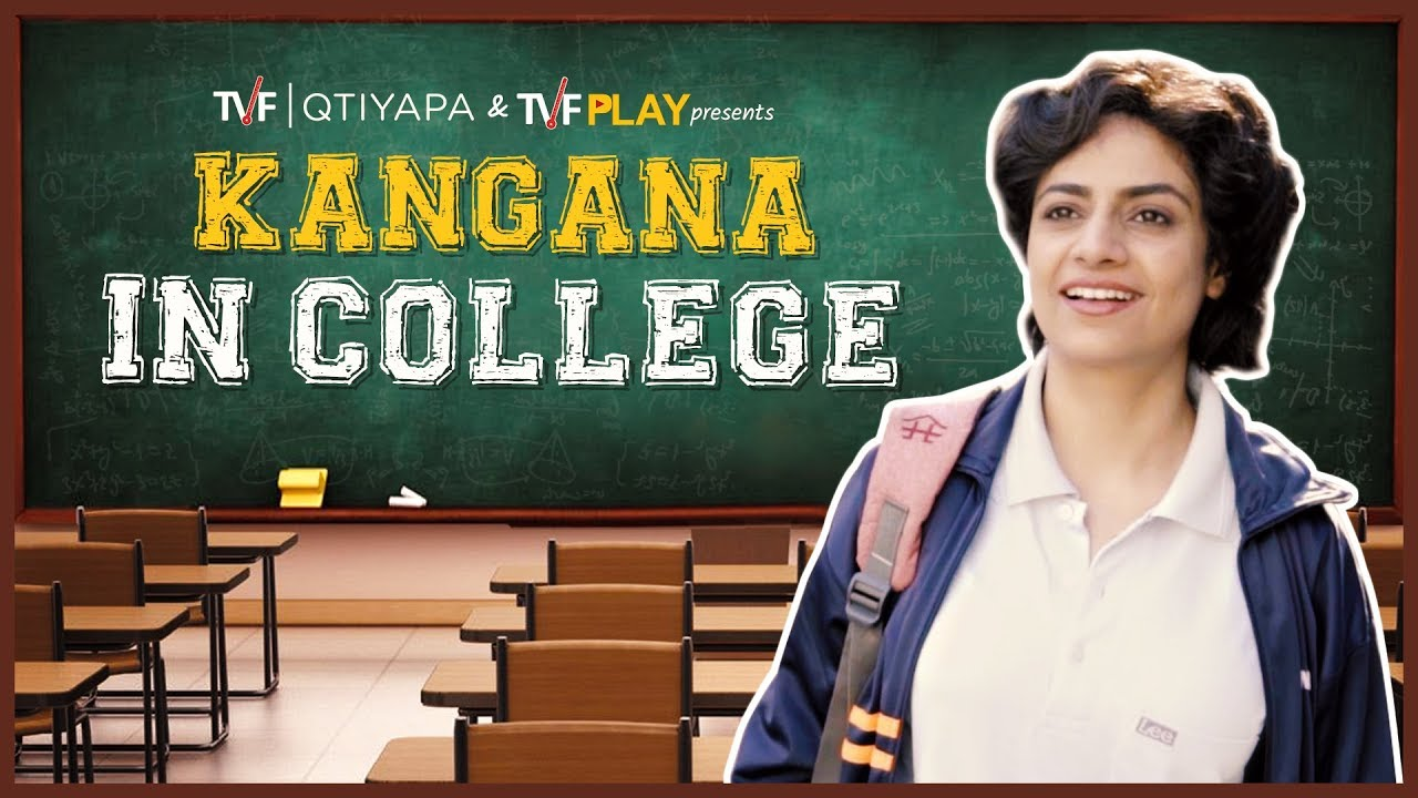 Celebrities in College : Kangana