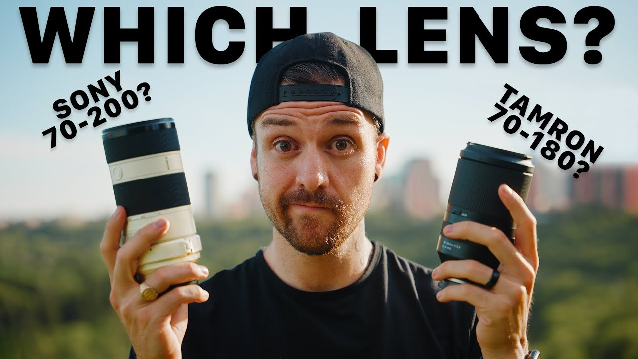 Which Lens Is The Best Choice For YOU? Tamron 70-180 vs Sony 70-200 f4 Review.
