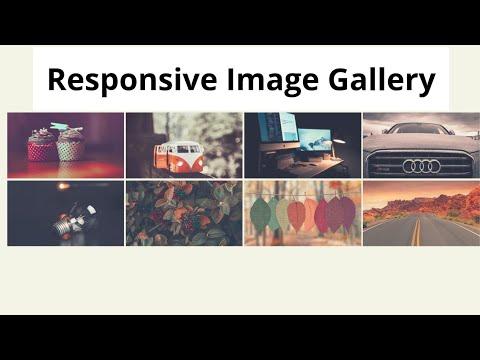Create A Responsive Image Gallery Using Html Css & Javascript | Lightbox Gallery Design