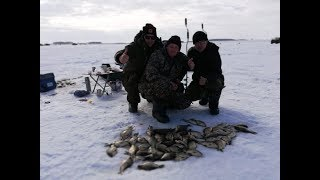 Зимняя Рыбалка в Петропавловске, Казахстан 2019 год. Отрыв по карасю оз. Карабалык