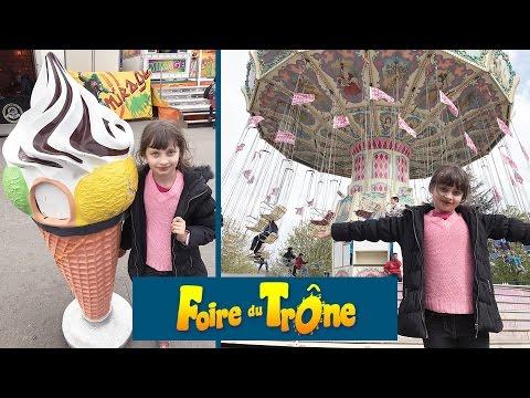 VLOG • FOIRE DU TRONE 2017, C'EST PARTI ! :) - Studio Bubble Tea Parc d'Attractions