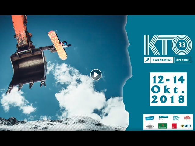 33.Kaunertal Opening 2018 presented by Blue Tomato - Official TEASER
