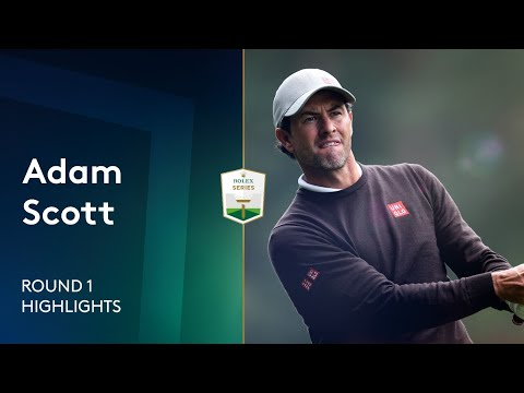 Adam Scott shoots 65 including hole-out | Round 1 Highlights | 2021 BMW PGA Championship