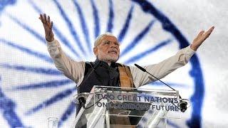 PM Modi at Wembley Stadium   PMO