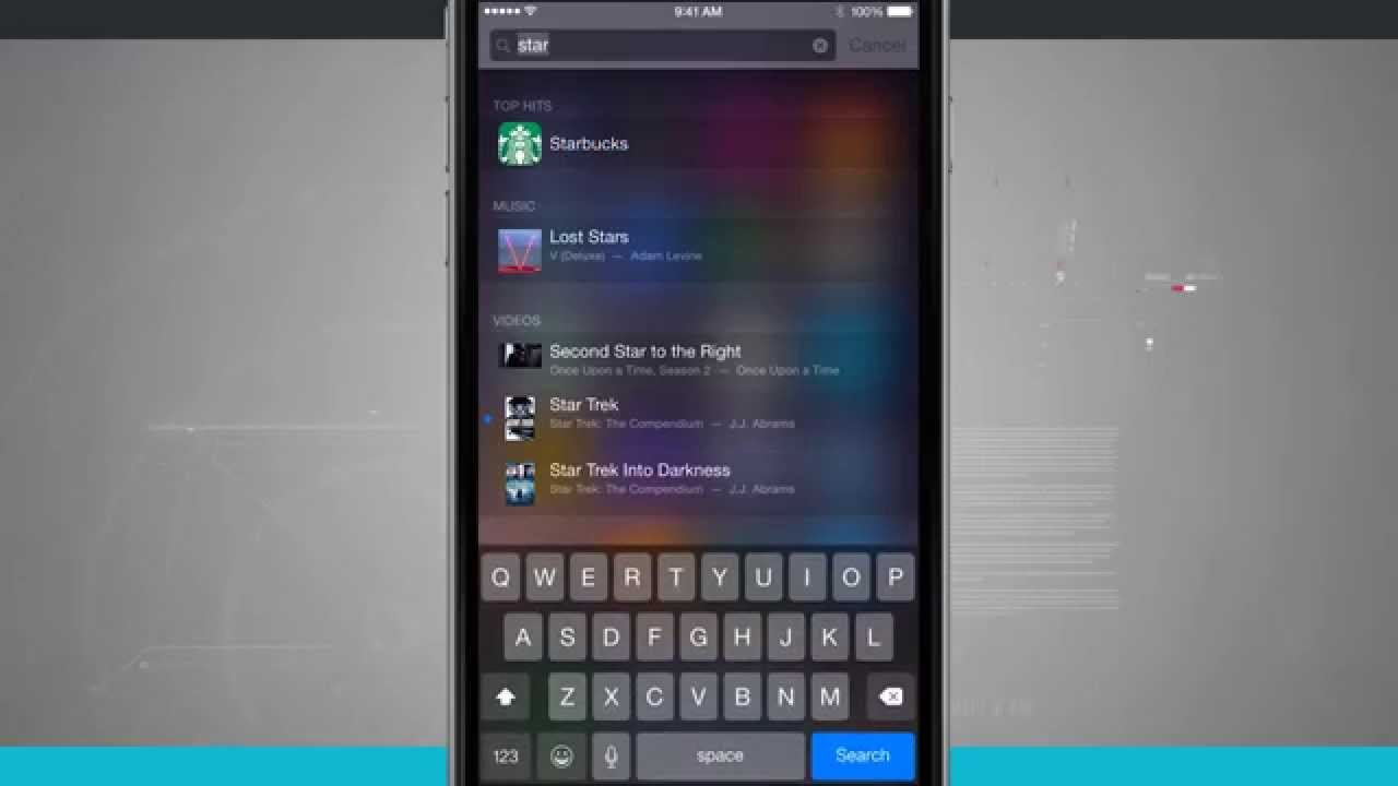 Iphone 6 Tips How To Use Spotlight Search Youtube