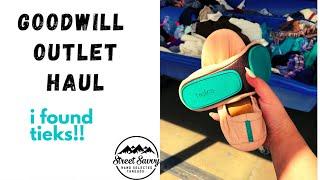 $100 Goodwill Outlet Haul to Flip Into $2k+ on Poshmark & Ebay - I FOUND TIEKS!!!