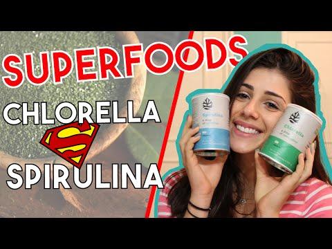 Spirulina e Chlorella: benefícios desses superfoods