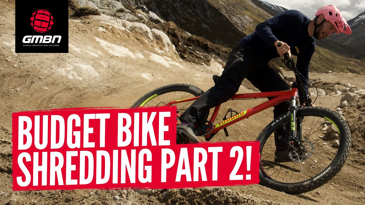 How Hard Can You Push A Budget Mountain Bike Part 2 | Riding A Cheap MTB At Fort William