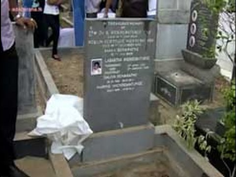 Body of late journalist Lasantha Wickrematunge exhumed