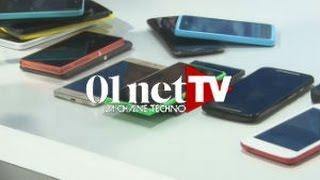 Arrivage de smartphones au Labo 01net