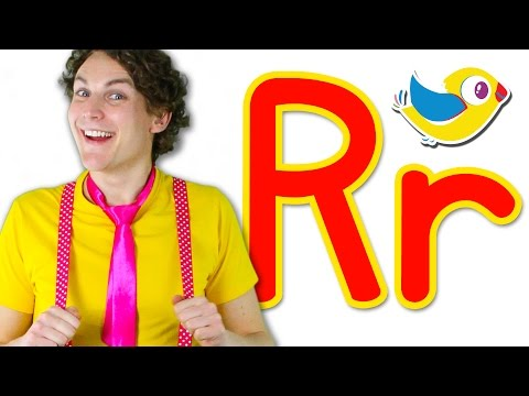 The Letter R Song - Learn the Alphabet