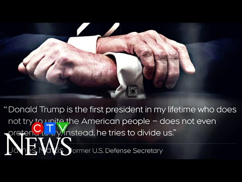 James Mattis accuses President Trump of dividing Americans