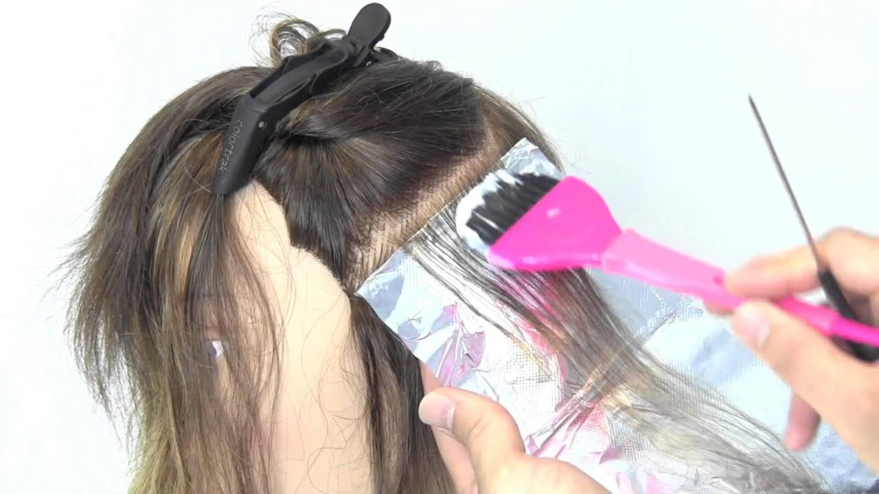 How To Color 101 Using Foil Hair Color Technique Youtube