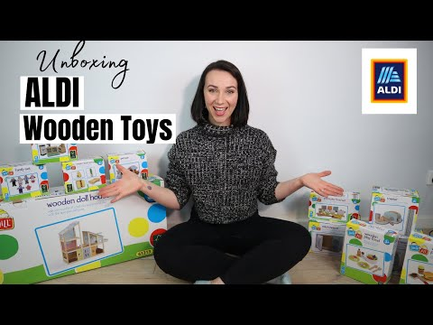 Aldi Wooden Toys Unboxing and Dollhouse Review 2020