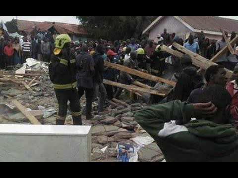 Classroom collapses on pupils in Nairobi school
