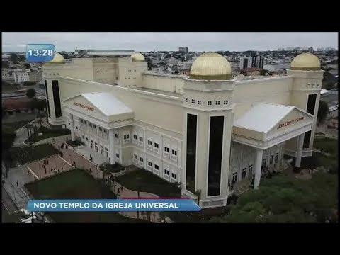 Novo templo da Igreja Universal é inaugurado em Curitiba