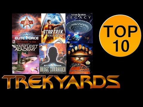 Trekyards Top 10 - Star Trek Video Games (Unmodded)